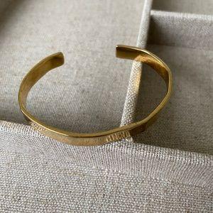 J. Crew Gold Plated Bangle Bracelet